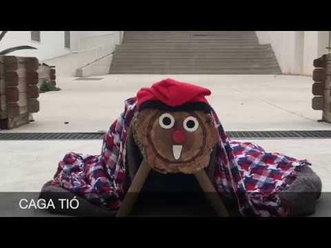 CAGA TIÓ 2017 Comunitat educativa ESCOLA LA SALUT Collbató