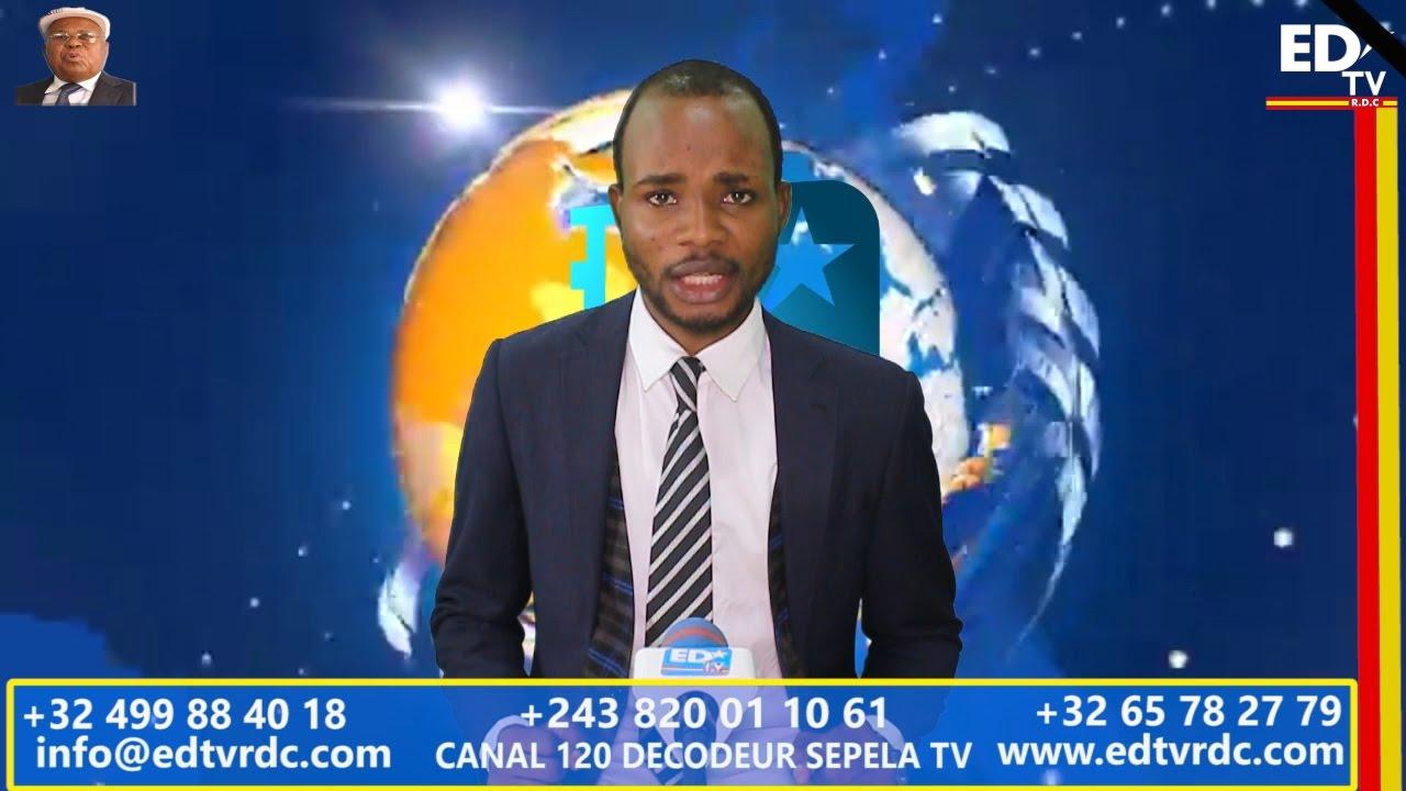 JOURNAL EDTV LINGALA: SANGO YA POSO YA LE 13 - 19 MARS 2017
