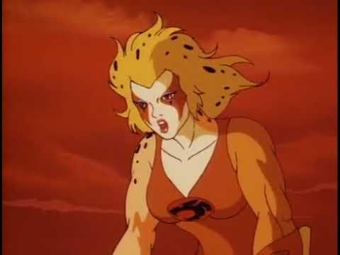 Lion-O beats Cheetara