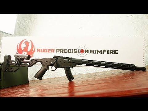 Ruger Precision Rimfire Unboxing & Details