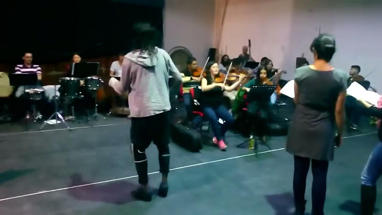 ALIVETAP una experiencia sinfónica sin igual - Julián Garcés Ocoró en ensayo con la FOSBO 2016