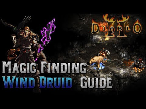 Diablo 2 - MF Wind Druid - In Depth - Pit Farmer