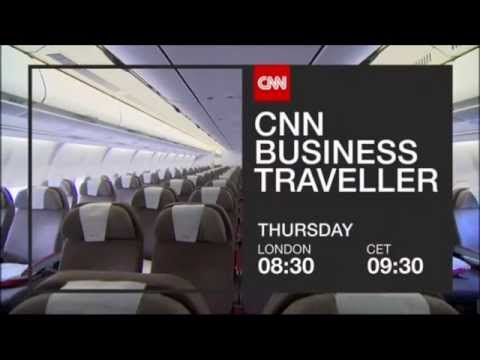 "CNN International ""Business Traveller - Madrid"" promo"