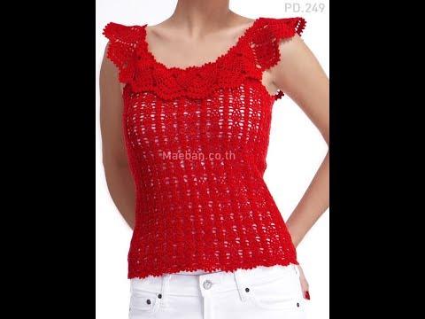 Free English Crochet Patterns| for |crochet tops patterns| 2430