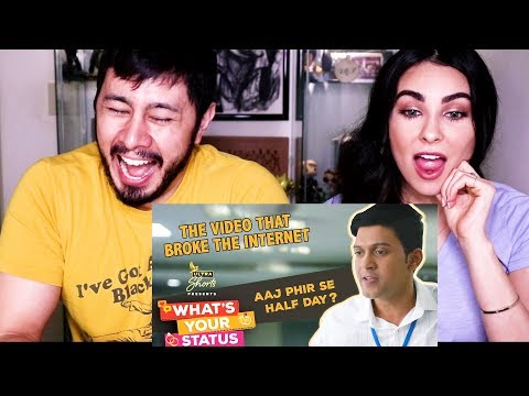 HALF DAY | THE VIRAL OFFICE RANT | What's Your Status | Reaction!