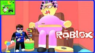 Johny Shows Roblox New Escape Grandma's House Obby