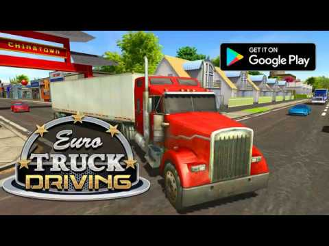 Euro Truck Driving Simulator 2018 Apps On Google Play