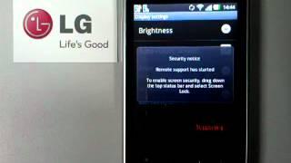 RemoteCall on LG Optimus L3