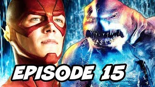 The Flash Season 2 Episode 15 - TOP 10 WTF and Easter Eggs