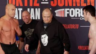 Tito Ortiz, Chael Sonnen are on weight and official for Bellator 170