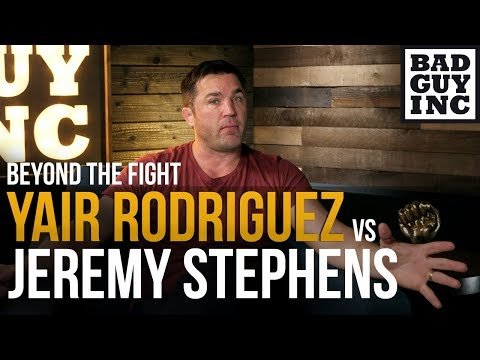 Jeremy Stephens has never faced anyone like Yair Rodriguez...