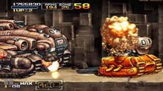 PSP metal slug XX HARD no death ALL clear (TARMA)