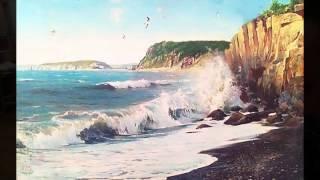 Мастер класс Игоря Сахарова Море  Скалы  Прибой