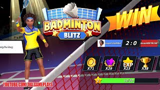 Badminton Blitz - Free PVP Online Sports Game Gameplay First Look (Android iOS) screenshot 4