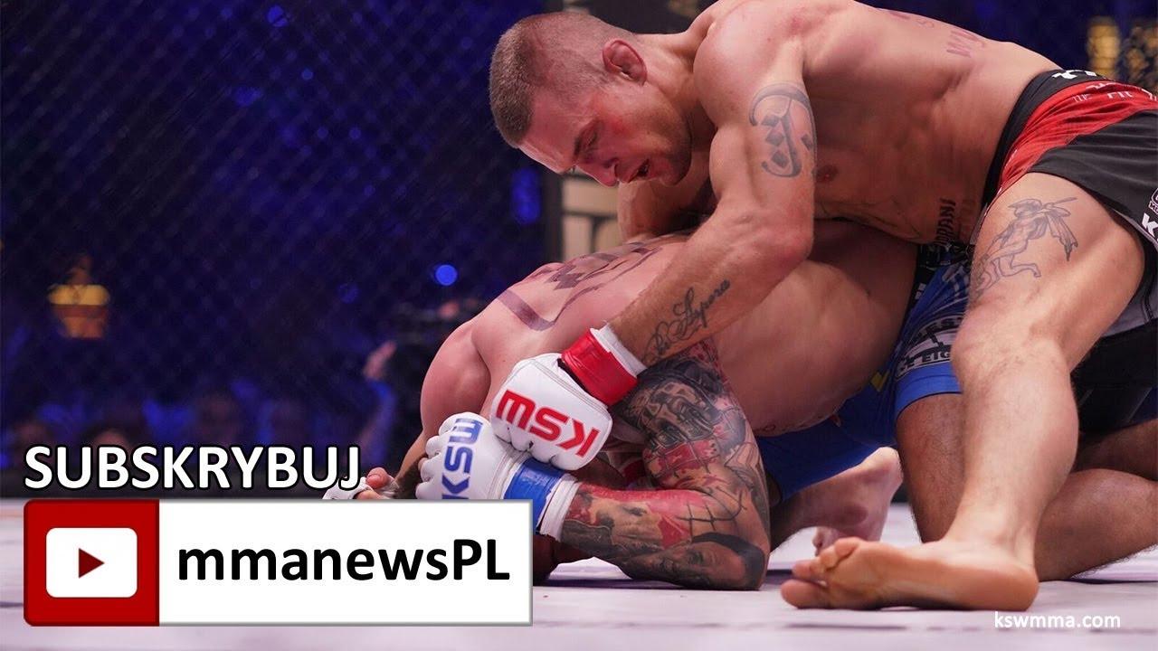 KSW 41: Marcin Wrzosek pokonał Szymańkiego i zawalczy z Kleberem Koike o pas!