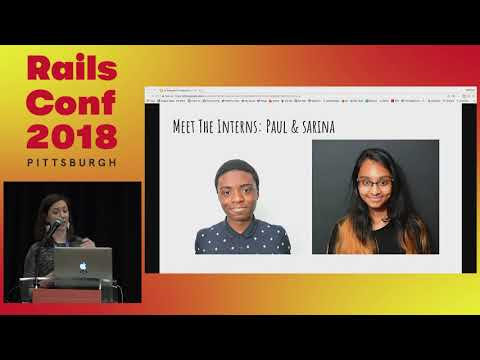 RailsConf 2018: All Onboard: Cruising on the Mentorship by Gretchen Ziegler