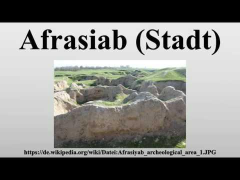 Afrasiab (Stadt)