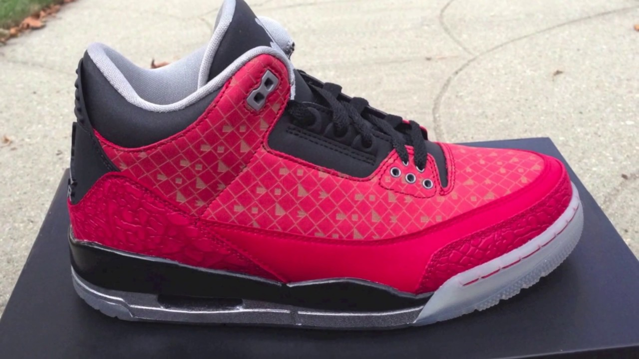low priced 91d25 41b45 Nike Doernbecher Jordan 3 DB Review (2013) 1080 HD