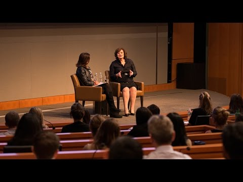 Barrister and Philanthropist Cherie Blair with GS' Dina Habib Powell: Talks at GS Session Highlights