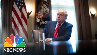 Trump Participates In Roundtable On Positive Impact Of Law Enforcement   NBC News