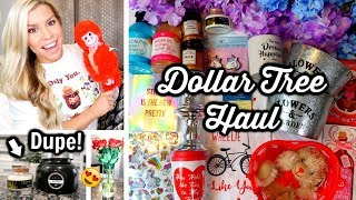 DOLLAR TREE HAUL | JANUARY 2019 | LONG STEM ROSES & HIGH-END DUPE