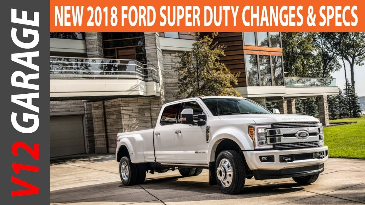 2018 Ford Super Duty Changes Specs And Release Date