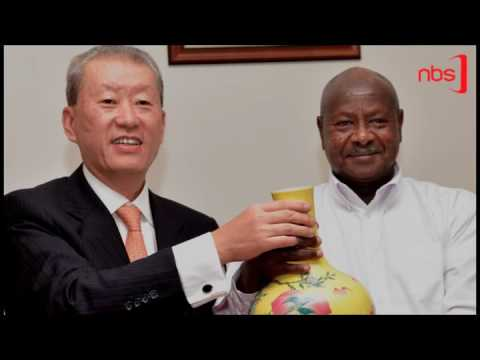 China Donates to Uganda