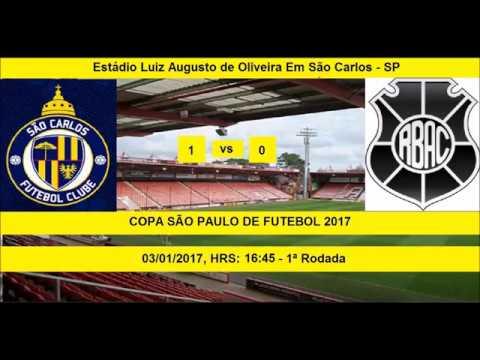 COPA SÃO PAULO DE FUTEBOL 2017 SÃO CARLOS-SP 1 X 0 RIO BRANCO-ES