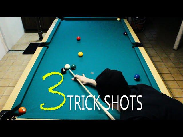 3 Pool Trick Shots: Volume 6