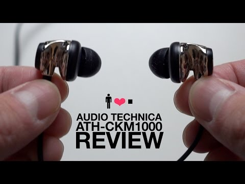 Audio Technica ATH-CKM1000 Flagship In-Ear Earphone Review
