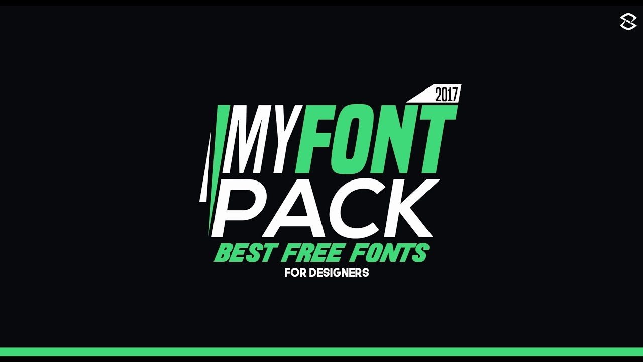 Best Free Fonts for Designers (2017) - YouTube