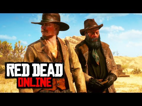 Red Dead Online - Setting Up Camp!! (Red Dead Redemption 2 Online)