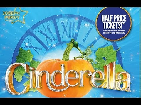 1* REVIEW Cinderella Victoria Halls BOLTON - Joseph Purdy Productions CANCELLED