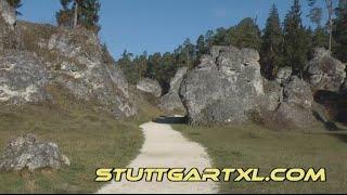 Wental: Felsenmeer im Wental bei Bartholomä - Steinernes Meer bei Steinheim am Albuch
