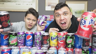 THE AMERICAN SODA TASTE TEST CHALLENGE