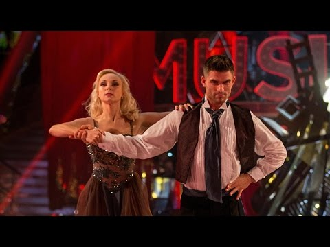 Helen George & Aljaz Skorjanec Paso Doble to 'At The End Of The Day'  Strictly Come Dancing: 2015