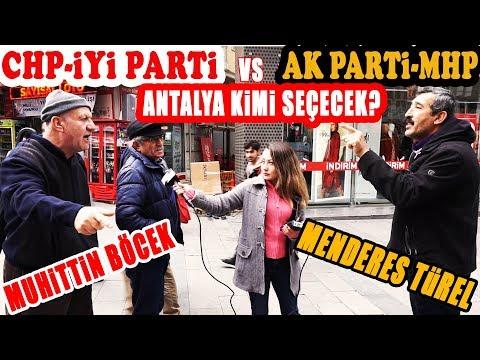 Antalya Yerel Seçim Anketi - Antalya'yı CHP Mi, AKP Mi Kazanacak?