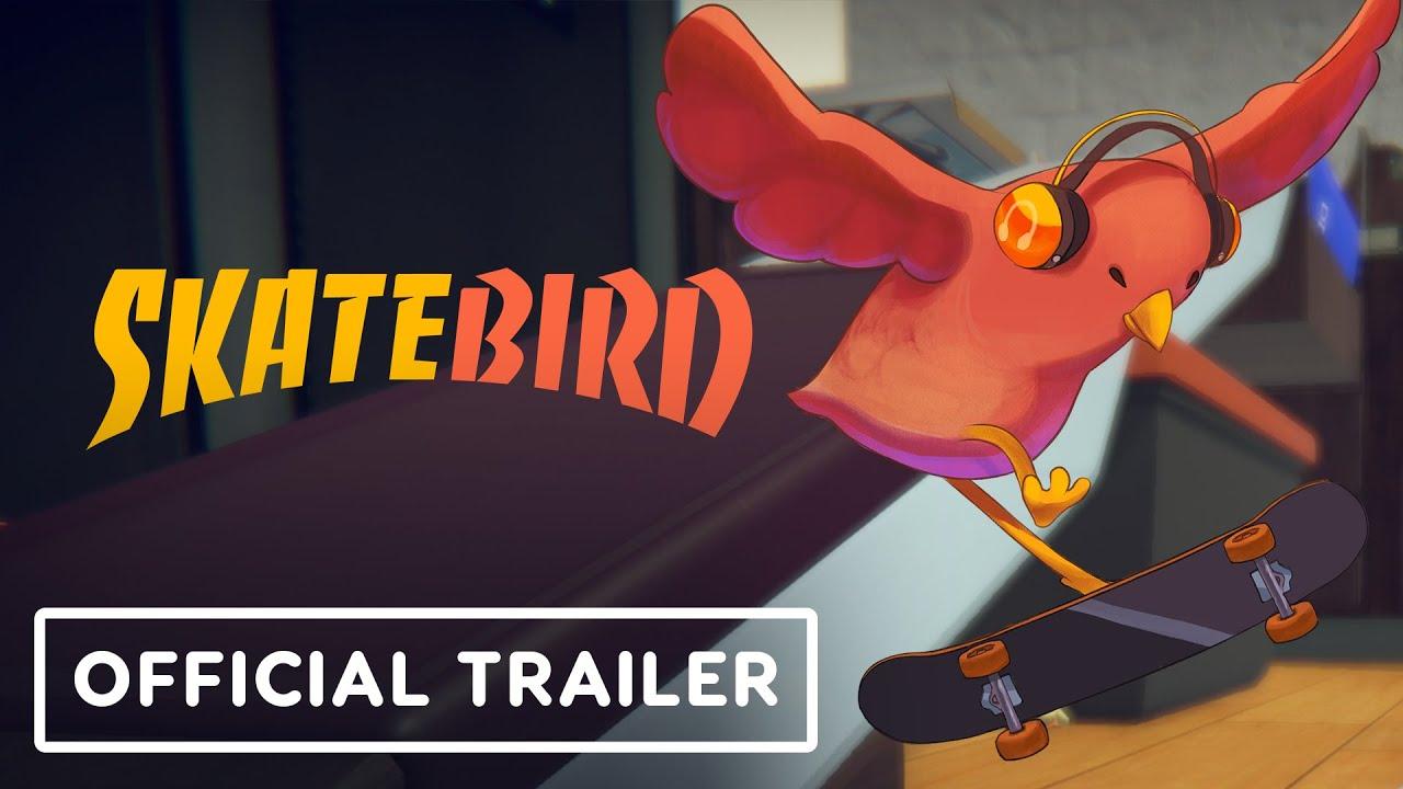 SkateBIRD - Official Trailer | Summer of Gaming 2021 - IGN