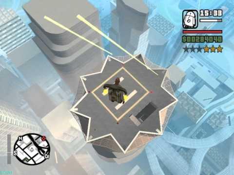 GTA San Andreas - Атаки на полицейские вертолеты