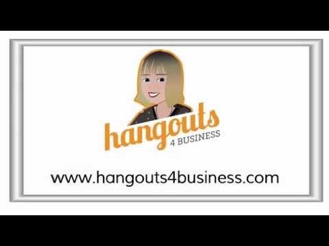 Google Hangouts in 60 Seconds with Elene Marsden