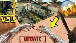 Special Forces Group 2-New Update V3.5|Zombie Bot Can Jump|New Map|New Model!