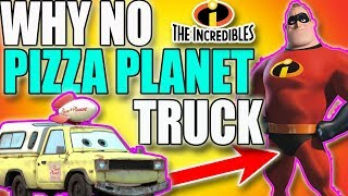 Why The Incredibles Is The Only Pixar Movie Without The Pizza Planet Truck | Pixar Theory