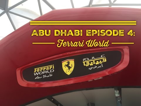 Best of Abu Dhabi Episode 4: Ferrari World Tour Formula Rossa Word's Fastest Roller Coaster