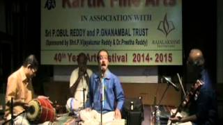 Carnatic Music Vocal Concert by M K Sankaran Namboothiri