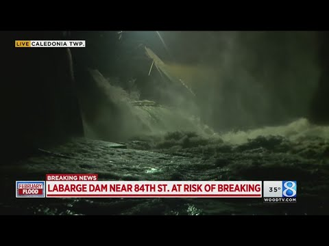 LaBarge Dam at risk of breaking