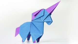 Easy Origami Unicorn - How To Fold