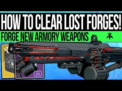 Destiny 2 | How to Complete VOLUNDR Forge & Get New Weapons! Lost Forge Guide & Black Armory Weapons