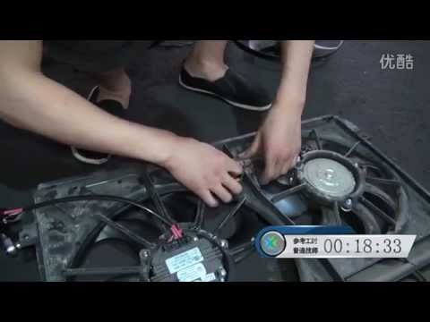 How to replace cooler fan on Volkswagen Pat - YouTube  Volkswagen Beetle Sel Cooling Fan Wiring Diagram on