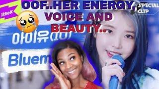 Gambar cover Reaction|[최초공개] IU(아이유) 'Blueming(블루밍)' 라이브🎤🎤(밴드ver.) | 가사 | 스페셜클립 | Special Clip| Love Poem