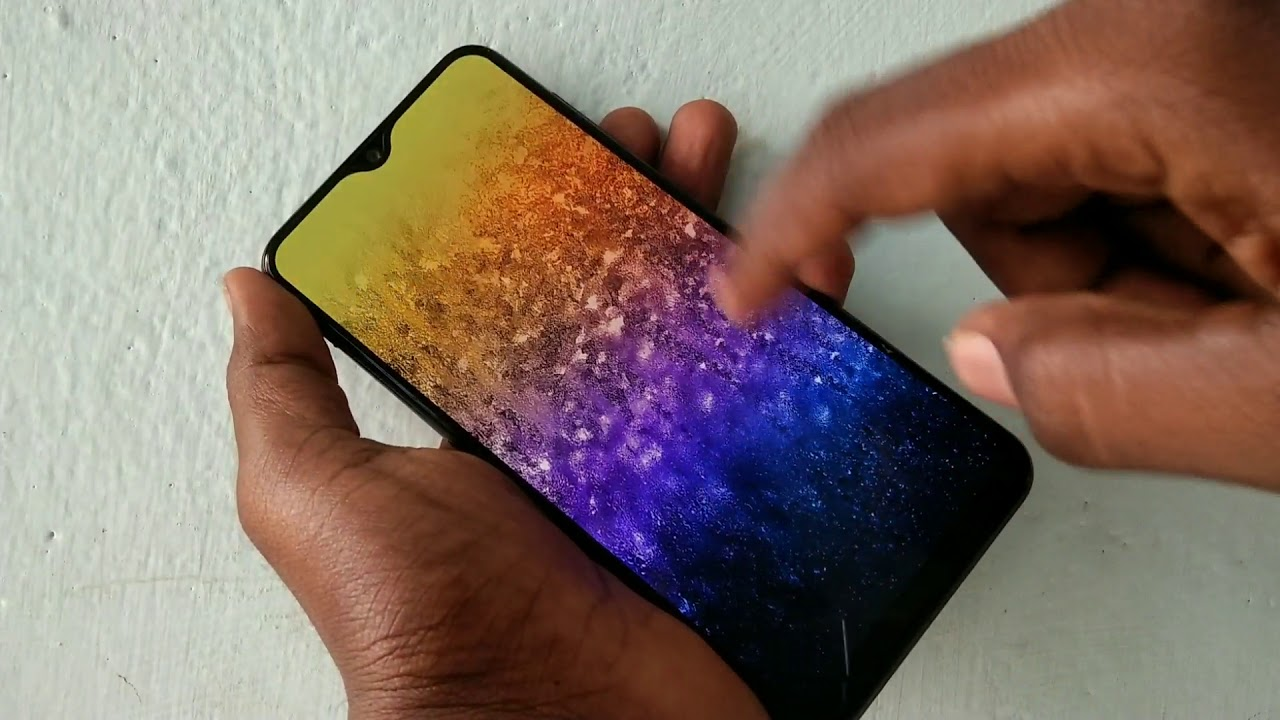 How To Change Wallpaper In Samsung Galaxy A50 Youtube